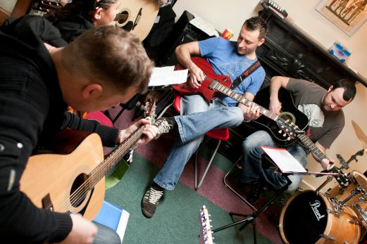 Guitar Lesson in Dublin By Patrice Revel Guitar School